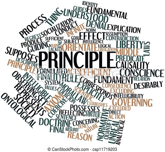 Слово принцип картинка