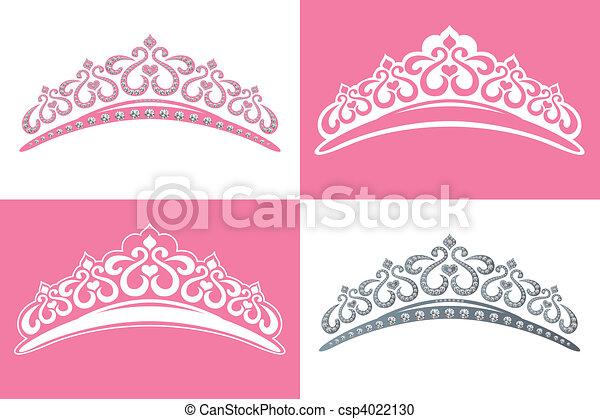 prinsessenkroon - csp4022130