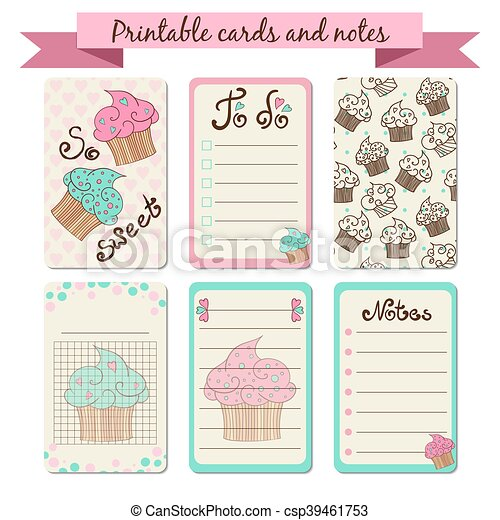 photo about Printable Journaling Cards identified as Printable journaling playing cards
