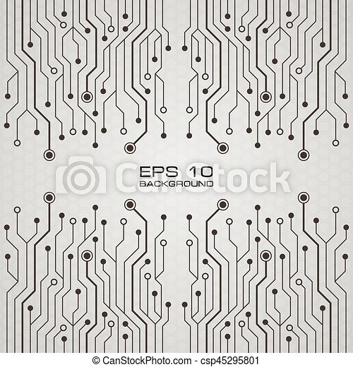 Printed circuit board vector background vector clipart - Search ...