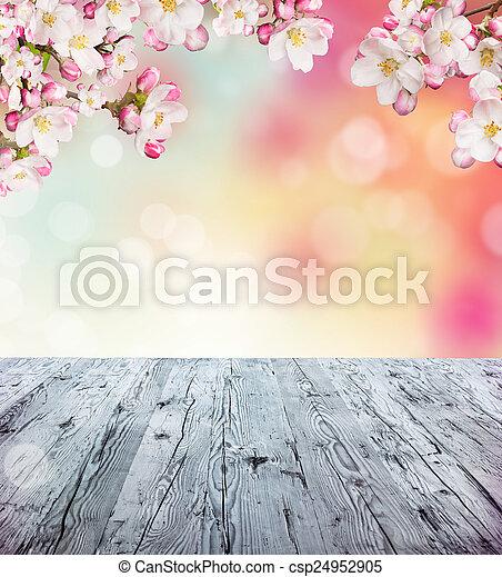 printemps, fond - csp24952905
