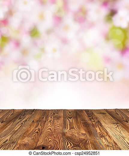 printemps, fond - csp24952851