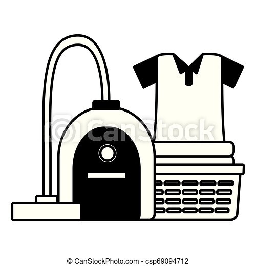 printemps, outils, nettoyage - csp69094712