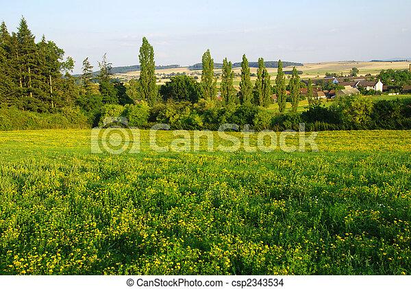 printemps, paysage - csp2343534