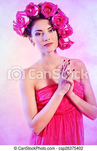 printemps, romance - csp26375402
