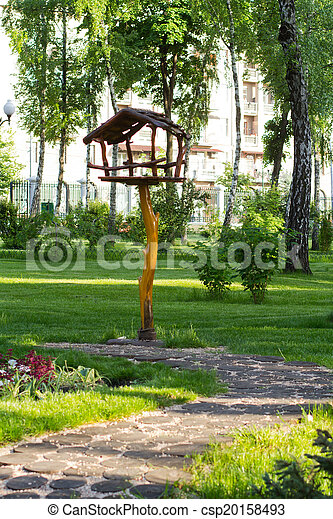 printemps, ville parc - csp20158493