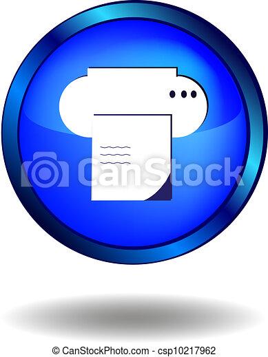 Printer icon - csp10217962