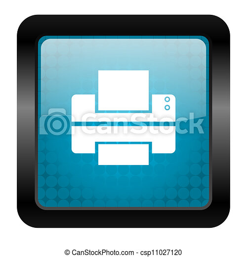 printer icon - csp11027120