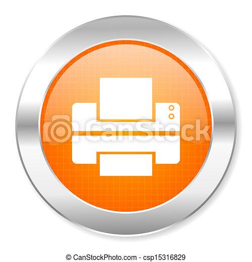 printer icon - csp15316829