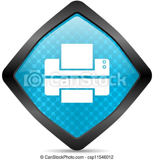 printer icon - csp11546012