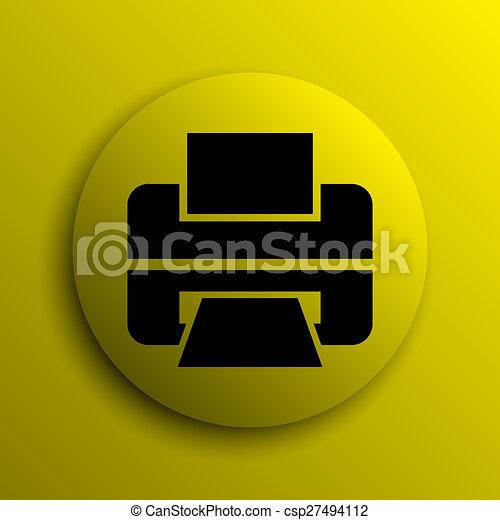 Printer icon - csp27494112