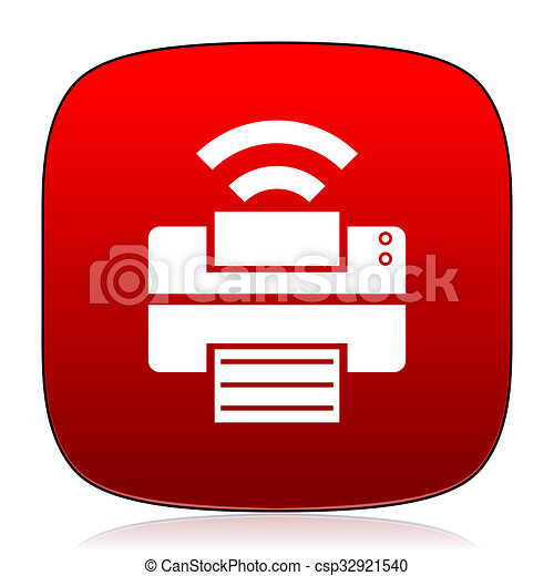 printer icon - csp32921540