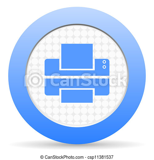 printer icon - csp11381537