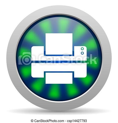printer icon - csp14427793