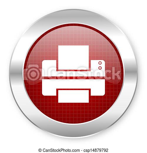 printer icon - csp14879792