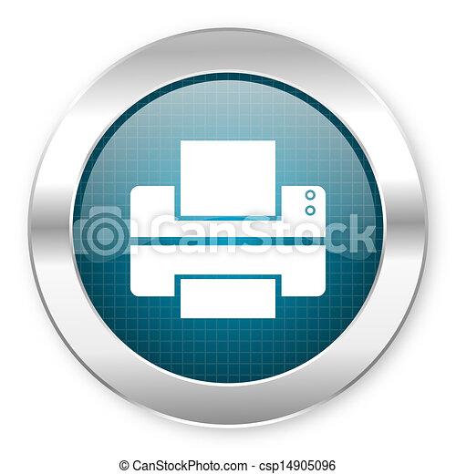 printer icon - csp14905096
