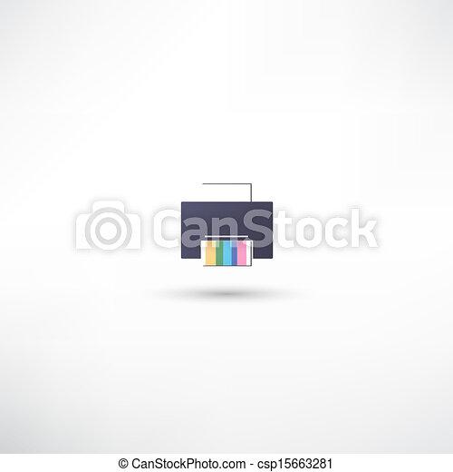 Printer icon - csp15663281