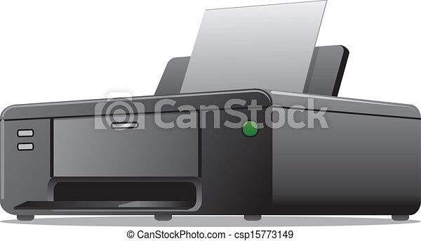 printer icon - csp15773149