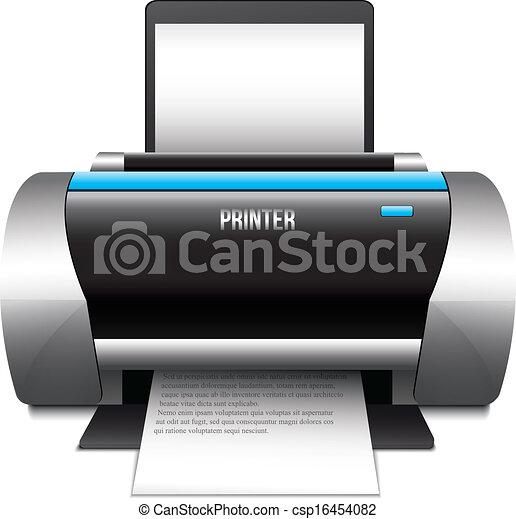 Printer Icon - csp16454082