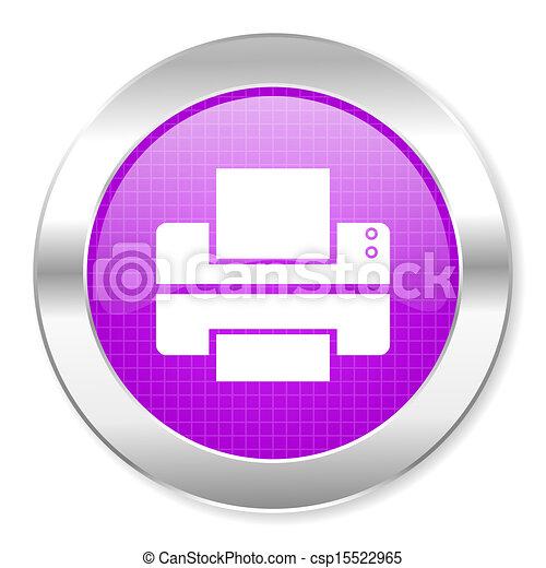 printer icon - csp15522965
