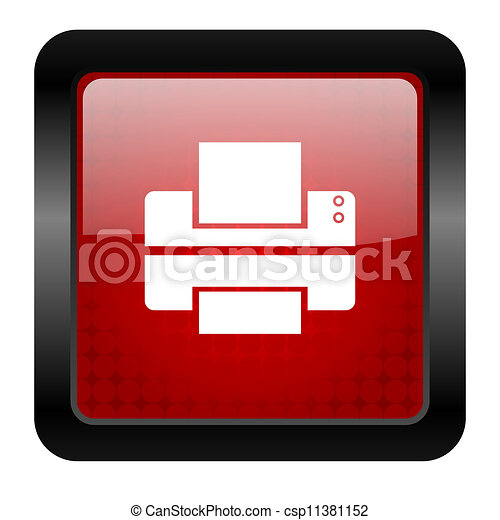 printer icon - csp11381152