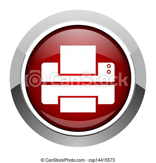 printer icon - csp14415573