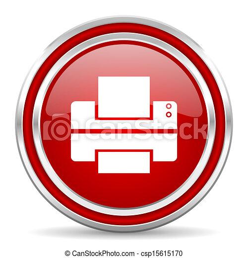printer icon - csp15615170