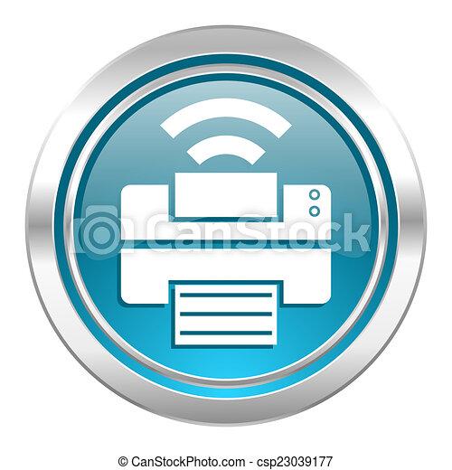 printer icon - csp23039177