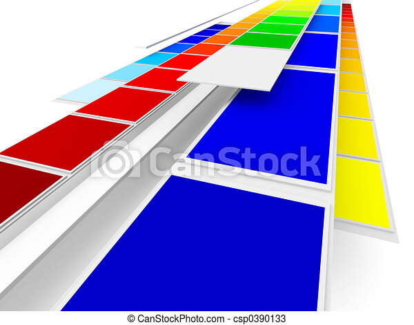Printing Colors - csp0390133