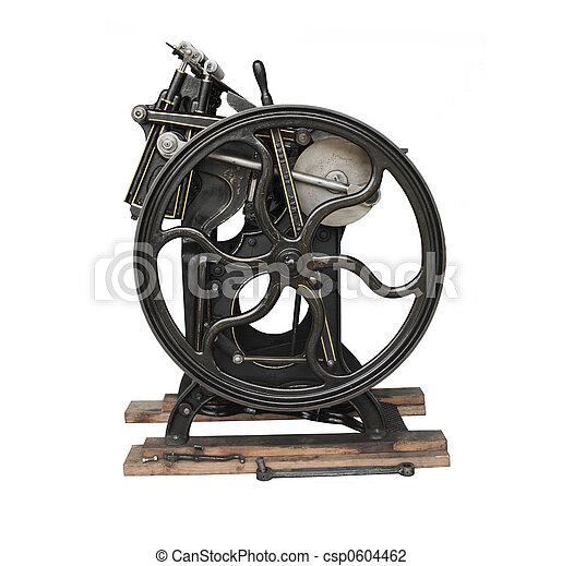 printing press - csp0604462