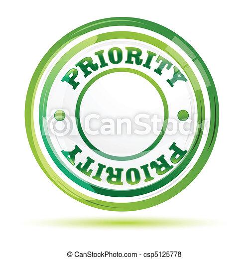 priority stamp - csp5125778