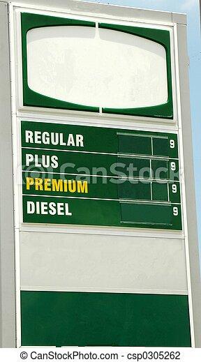 priser, gas - csp0305262