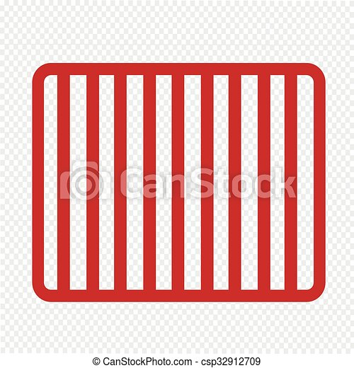 prison bars jail icon illustration art vector clipart search rh canstockphoto com free clipart prison bars