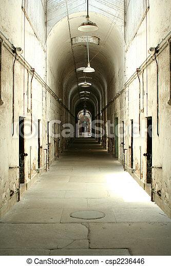 Prison cell block - csp2236446