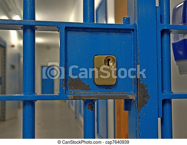 Prison Cell Door Lock Prison Door Lock Close Up