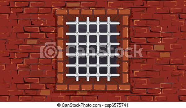 Prison Window - csp6575741