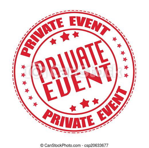 private event stamp - csp20633677