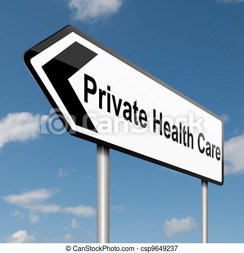 Private Healthcare concept. - csp9649237