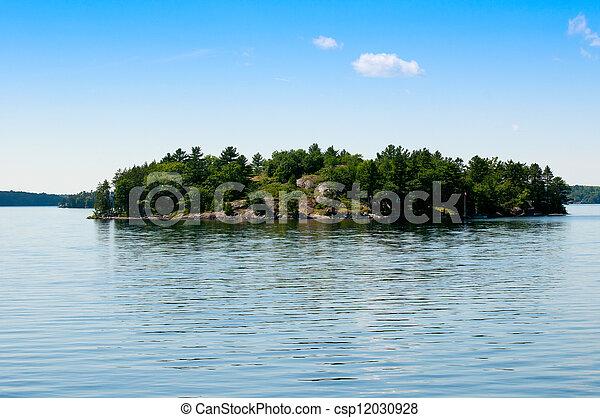 Private island - csp12030928