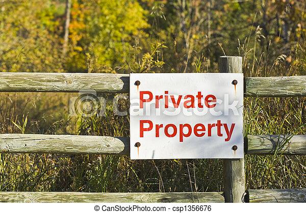 private property - csp1356676
