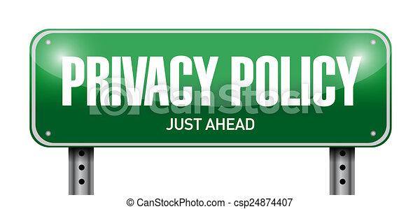 privatleben, abbildung, zeichen, design, politik, straße - csp24874407