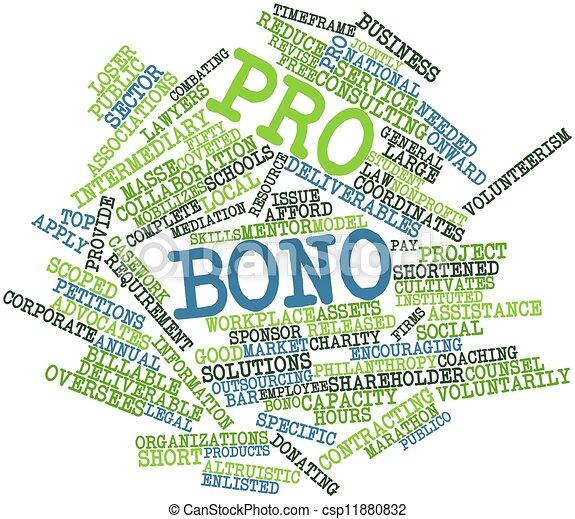 Pro bono - csp11880832