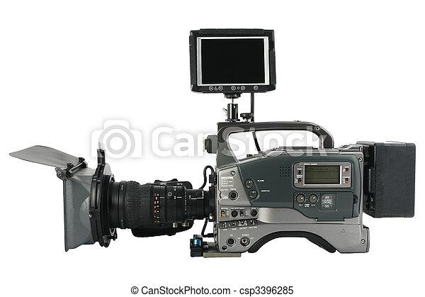 Pro video camera - csp3396285