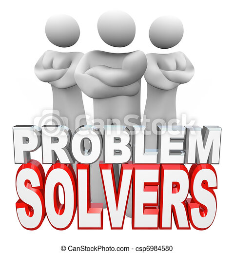 Problem Solvers People Ready to Solve Your Problem - csp6984580