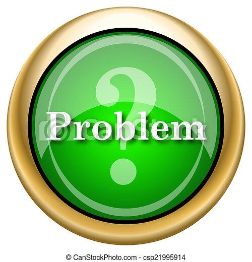 problema, ícone - csp21995914