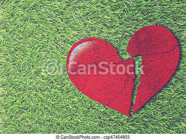 problema, concepto, amor - csp47454803