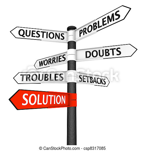 Problems and Solution Signpost - csp8317085