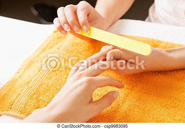 proces, manicure, samicze ręki - csp9983095