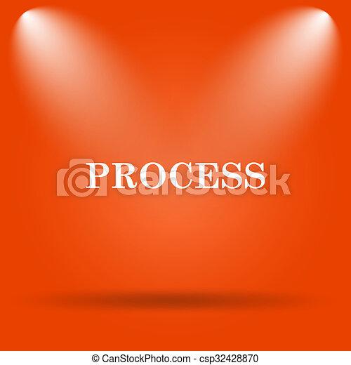 Process icon - csp32428870
