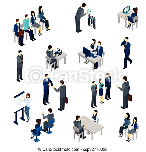 processus, recrutement, ensemble - csp32770028